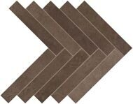 Dwell Brown Leather Herringbone 36,2х41,2